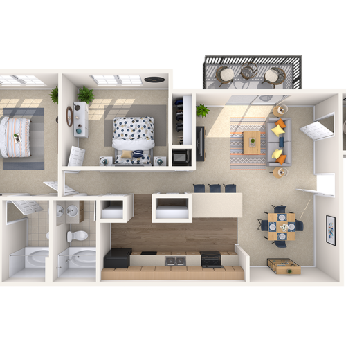 Floor Plan 3 | Peachtree Place