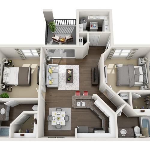 Floor Plan 1 | Laguna Place