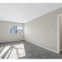 Bedroom & Window | Apartments for Rent in Woodridge, Illinois | The Townhomes at Highcrest