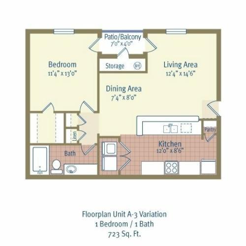 2 Bed / 2 Bath Apartment In BELTON TX