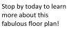 2X2-B4L Floor Plan | 2 Bedroom with 2 Bath | 1063 Square Feet | Alpha Mill | Apartment Homes