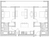 B3 Wheeler 2 Bedroom Apartment Floorplan at 935M