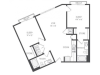 The Kasimir Floor Plan | 2 Bedroom with 2 Bath | 1093 Square Feet | Cottonwood Westside | Apartment Homes