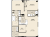 B6 Floor Plan | 2 Bedroom with 2 Bath | 1180 Square Feet | McKinney Uptown | Apartment Homes