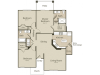 The Pennsylvania Floor Plan | 3 Bedroom with 2 Bath | 1411 Square Feet | Enclave on Golden Triangle | Apartment Homes