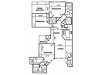 G Classic Floor Plan | 3 Bedroom with 2 Bath | 1685 Square Feet | Pavilions | Apartment Homes