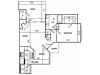 C Classic Floor Plan | 1 Bedroom with 1 Bath | 981 Square Feet | Pavilions | Apartment Homes