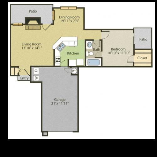 1 Bed / 1 Bath Apartment in Richardson TX | Spring Pointe