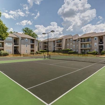 1070 Main Two Lighted Tennis Courts
