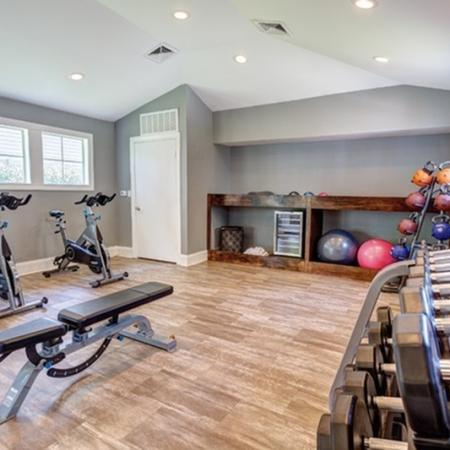 1070 Main Fitness Center Cycles and Free Weights