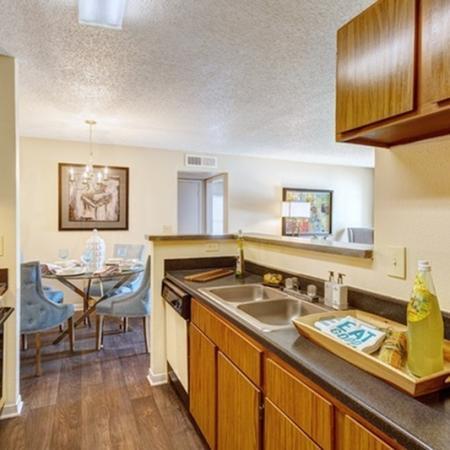 1070 Main Apartment Kitchen