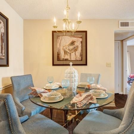 1070 Main Apartment Dining Room