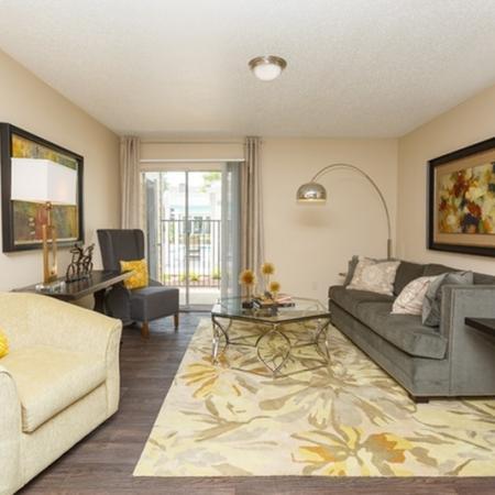 1070 Main Apartment Living Room Open Door