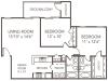 Cypress Floorplan | 1070 Main