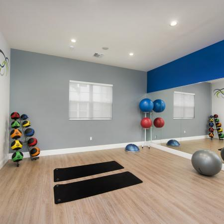 Cottonwood West Palm's private yoga studio