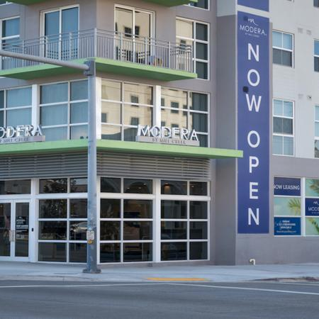 Community Front Entrance | Modera Douglas Station