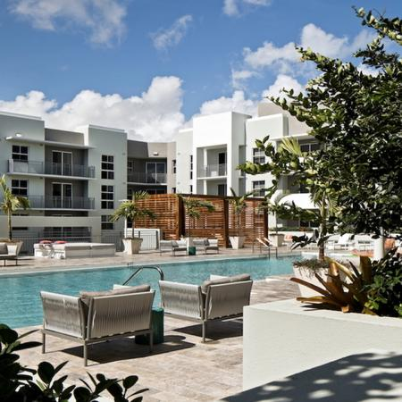 Elevated Deck with Hotel-Inspired Pool | Modera Douglas Station