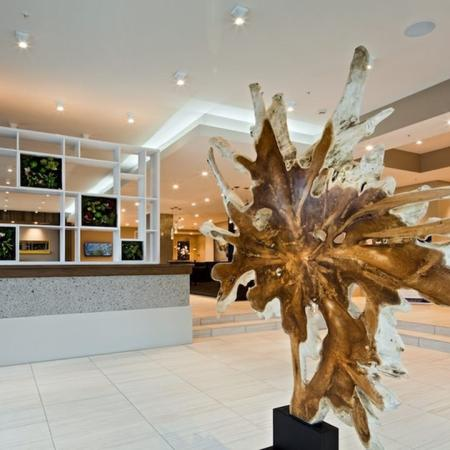 Artistic Lobby Accents | Modera Douglas Station