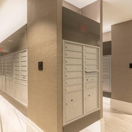 Convenient Mail Center in Lobby