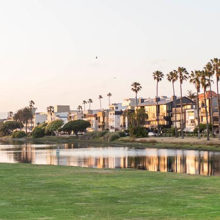 Minutes from Playa Vista's lush parks.