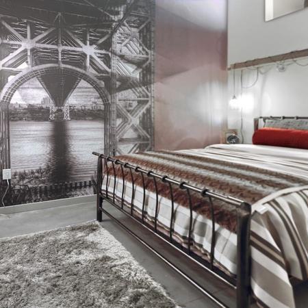 Elegant Master Bedroom | Apartments Jersey City, NJ | Modera LoftsStudios | Jersey City NJ Apartment Homes | Modera Lofts