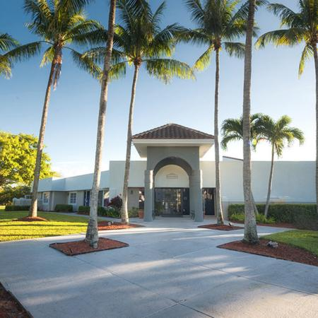 Clubhouse and Leasing Office Renovated Exterior | Alister Boca Raton
