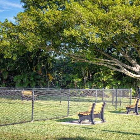 On-Site Bark Park | Alister Boca Raton