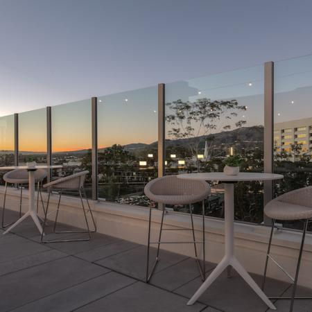 Community Sun Deck with Sweeping Views | Modera Glendale