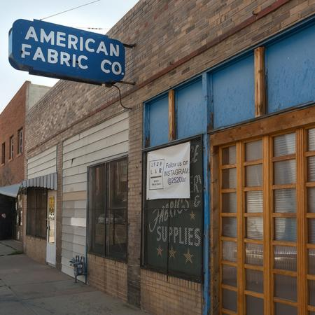 Local establishment American Fabric Co.