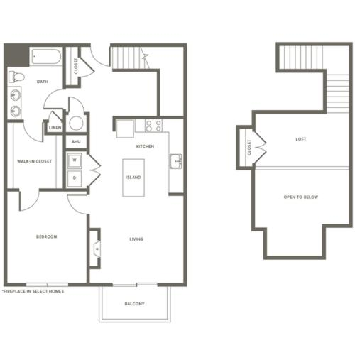 Floor Plan A2L | Modera Needham | Apartments Needham MA