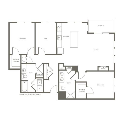 Floor Plan B4D | Modera Needham | Needham Massachusetts Apartments