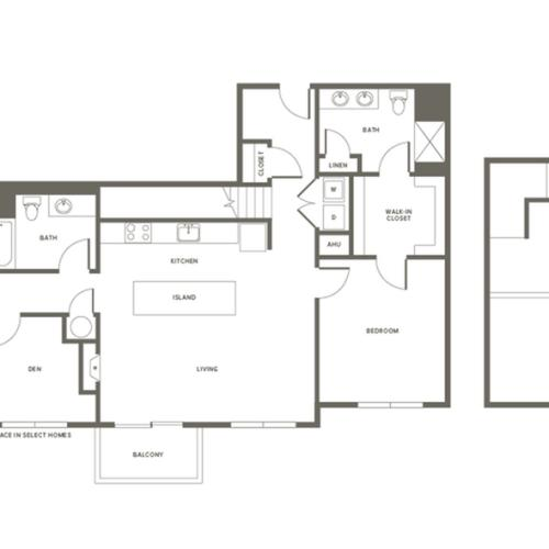 Floor Plan B5DL | Modera Needham | Apartments Needham MA