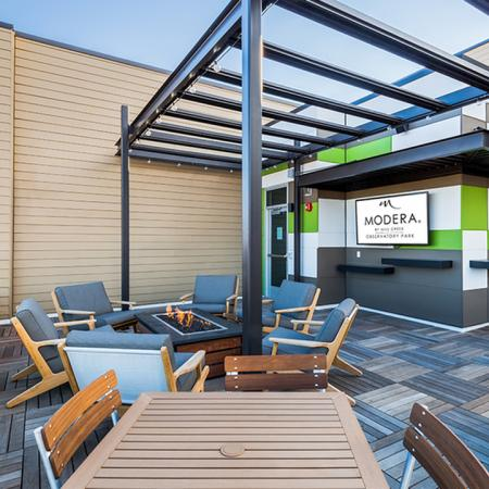 Outdoor Seating Area | Modera Observatory Park