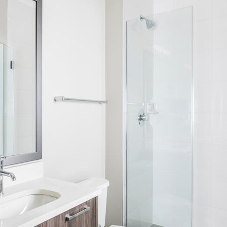 Luxe Showers | Modern on M | Apartment Homes | Washington DC
