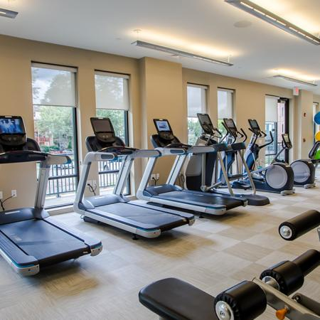 Large State of the art fitness center Modera 55 | Apartment Homes | New Jersey