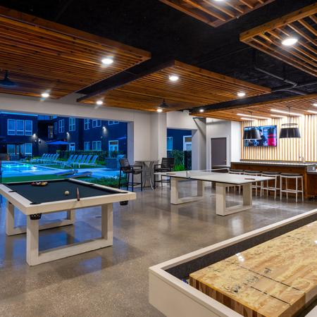 Indoor, Outdoor Game Area | Modera Shepherd | Houston | 77007 | Apartment Homes | Mill Creek