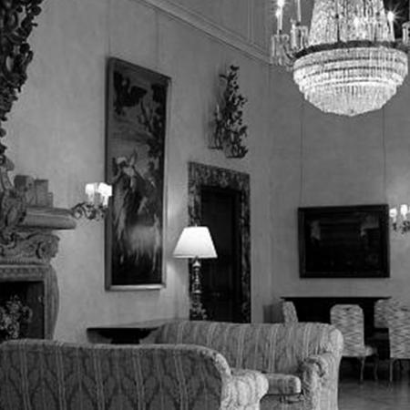 Historic ballroom of the Italian Embassy
