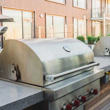 Roof Top Grilling Station