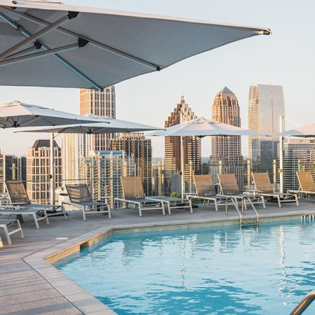 Roof Top Pool with Ample Seating