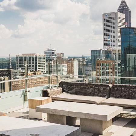 Roof Top Lounge Seating
