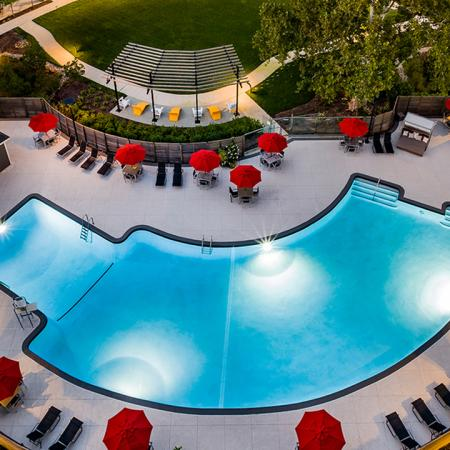 Luxe Hotel-Inspired Pool | Modern on M | Apartment Homes | Washington DC