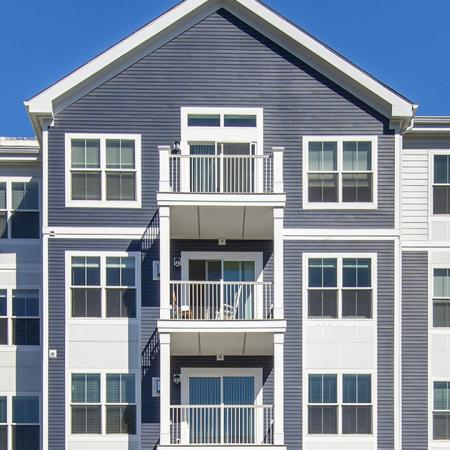 Private Balconies  | Modera Needham | Apartment Homes | Needham, MA Apartments