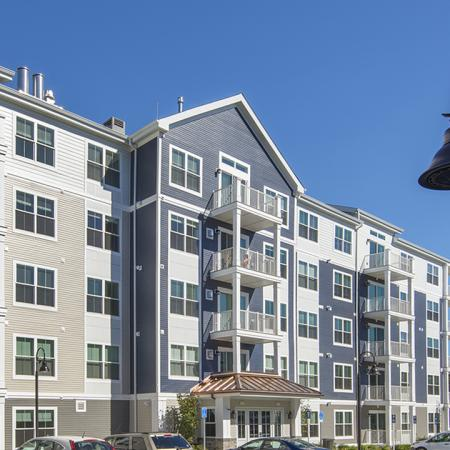 Apartments Feature a Private Balcony | Modera Needham | Apartment Homes | Needham, MA Apartments