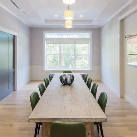 Private Dinning Space | Modera Needham | Apartment Homes | Needham, MA Apartments