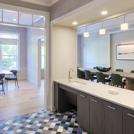 Demonstration Kitchen | Modera Needham | Apartment Homes | Needham, MA Apartments