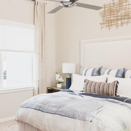 Cozy Bedroom | Apartment Homes in Orlando, Florida | Luxury Apartments in Orlando