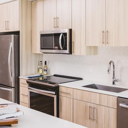Ample Cabinet Space in Kitchens | Apartment Homes in Orlando, Florida | Luxury Apartments in Orlando