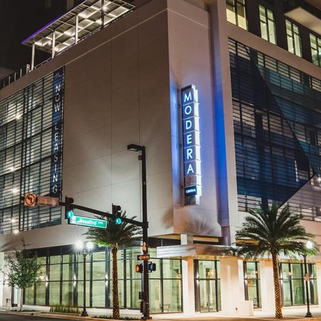 Evening at Modera Central | Apartment Homes in Orlando, Florida | Luxury Apartments in Orlando