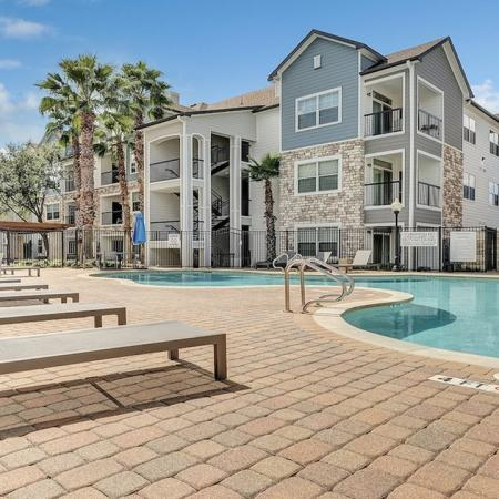 Two Resort-Style Pools | Alister Balcones | Austin, Texas | Apartment Homes | Cozy Living Spaces