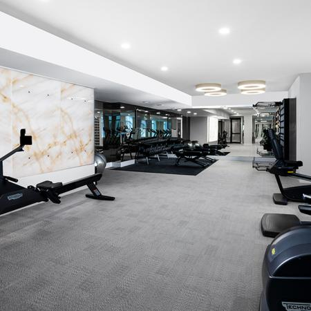 lub-quality fitness facility outfitted with elite equipment imported from Italy